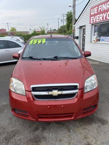 2009 Chevrolet Aveo for sale at Mastro Motors in Garden City MI