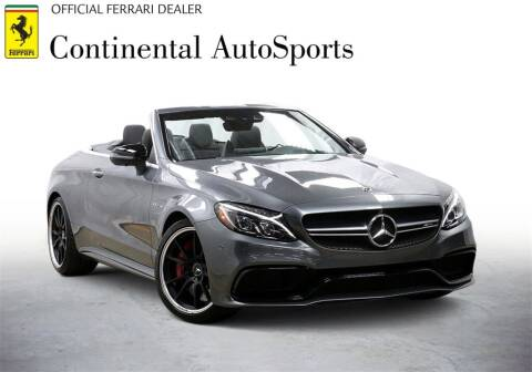 2018 Mercedes-Benz C-Class for sale at CONTINENTAL AUTO SPORTS in Hinsdale IL