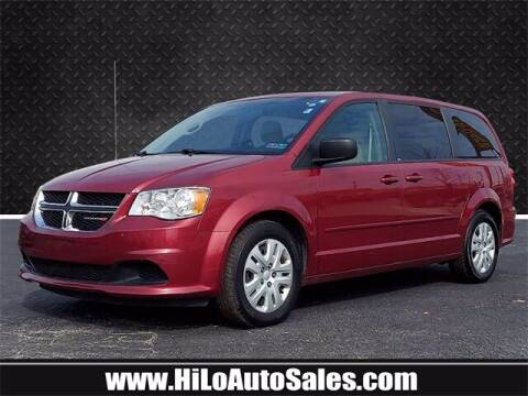 2014 Dodge Grand Caravan for sale at Hi-Lo Auto Sales in Frederick MD