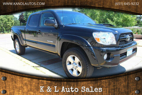 2011 Toyota Tacoma for sale at K & L Auto Sales in Saint Paul MN