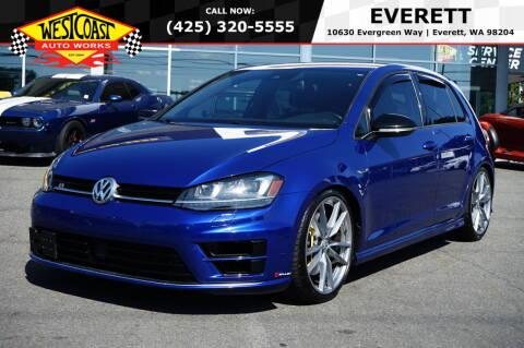 2016 Volkswagen Golf R for sale at West Coast Auto Works in Edmonds WA