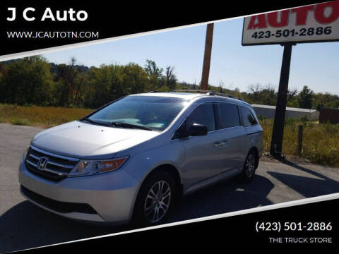 2011 Honda Odyssey for sale at J C Auto in Johnson City TN
