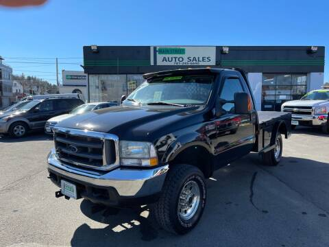 2004 Ford F-350 Super Duty for sale at Wakefield Auto Sales of Main Street Inc. in Wakefield MA