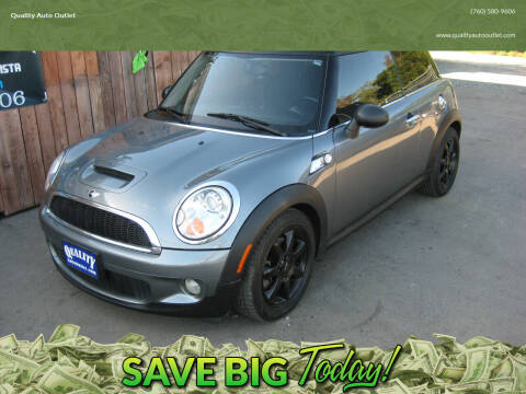 2010 MINI Cooper for sale at Quality Auto Outlet in Vista CA
