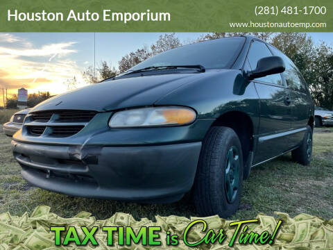 1997 Dodge Caravan for sale at Houston Auto Emporium in Houston TX