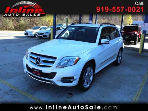 2013 Mercedes-Benz GLK for sale at Inline Auto Sales in Fuquay Varina NC