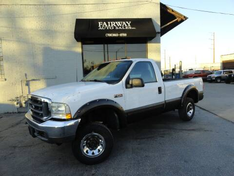 2003 Ford F-250 Super Duty for sale at FAIRWAY AUTO SALES, INC. in Melrose Park IL