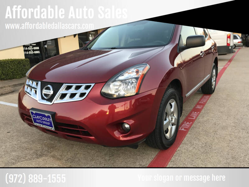 2014 Nissan Rogue Select for sale at Affordable Auto Sales in Dallas TX