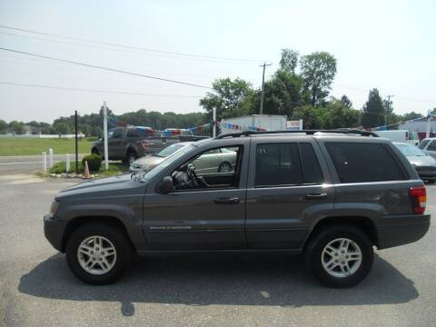 2004 Jeep Grand Cherokee for sale at All Cars and Trucks in Buena NJ