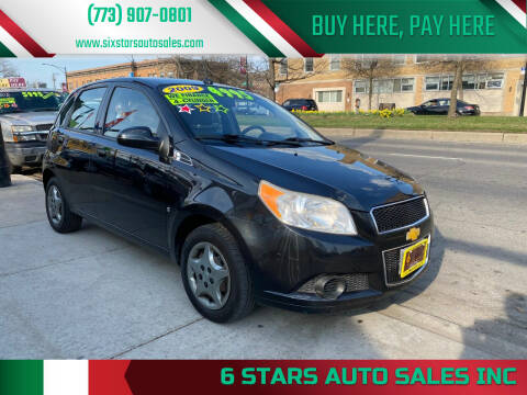 2009 Chevrolet Aveo for sale at 6 STARS AUTO SALES INC in Chicago IL