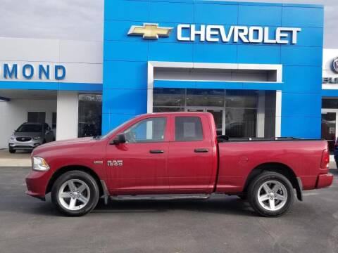 2014 RAM Ram Pickup 1500 for sale at EDMOND CHEVROLET BUICK GMC in Bradford PA