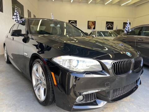 2013 BMW 5 Series for sale at GCR MOTORSPORTS in Hollywood FL
