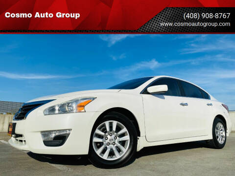2015 Nissan Altima for sale at Cosmo Auto Group in San Jose CA