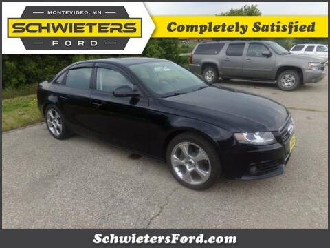 2011 Audi A4 for sale at Schwieters Ford of Montevideo in Montevideo MN