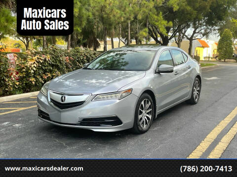 2017 Acura TLX for sale at Maxicars Auto Sales in West Park FL