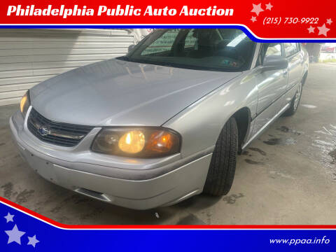 2004 Chevrolet Impala for sale at Philadelphia Public Auto Auction in Philadelphia PA