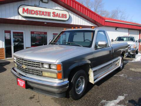 1988 Chevrolet C/K 1500 Series for sale at Midstate Sales in Foley MN