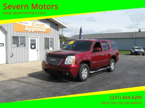 2011 GMC Yukon for sale at Severn Motors in Cadillac MI