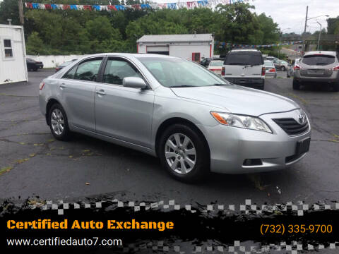 2007 Toyota Camry for sale at Certified Auto Exchange in Keyport NJ