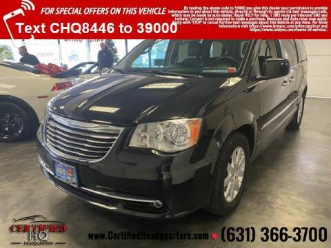 2015 Chrysler Town and Country for sale at CERTIFIED HEADQUARTERS in St James NY