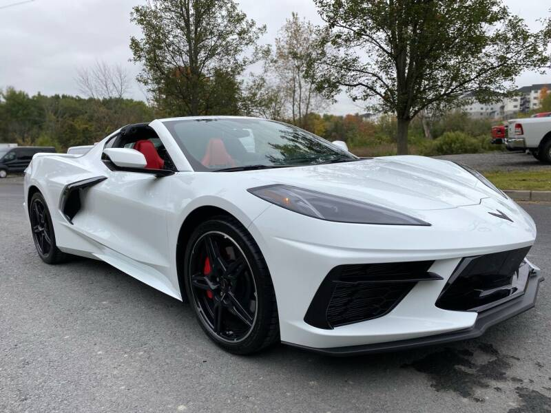 2021 Chevrolet Corvette for sale at HERSHEY'S AUTO INC. in Monroe NY