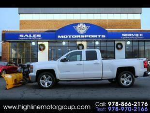 2014 Chevrolet Silverado 1500 for sale at Highline Group Motorsports in Lowell MA