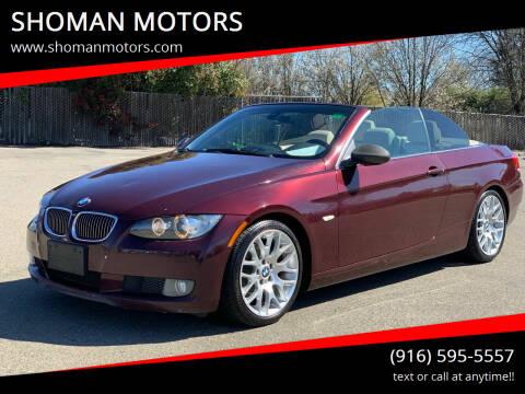 2008 BMW 3 Series for sale at SHOMAN MOTORS in Davis CA