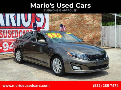 2014 Kia Optima for sale at Mario's Used Cars - South Houston Location in South Houston TX