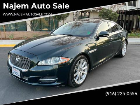 2011 Jaguar XJ for sale at Najem Auto Sale in Sacramento CA