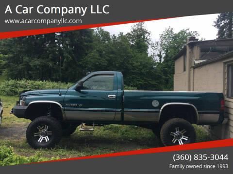 1997 Dodge Ram Pickup 2500 for sale at A Car Company LLC in Washougal WA