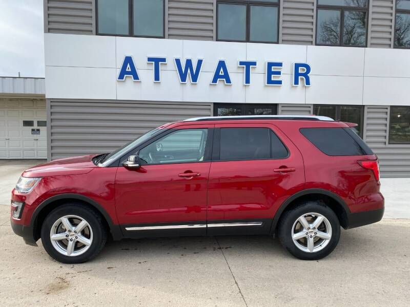 2016 Ford Explorer for sale at Atwater Ford Inc in Atwater MN