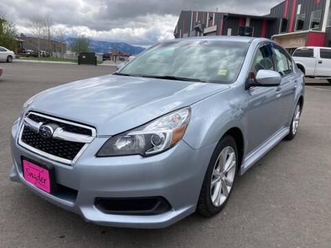 2014 Subaru Legacy for sale at Snyder Motors Inc in Bozeman MT