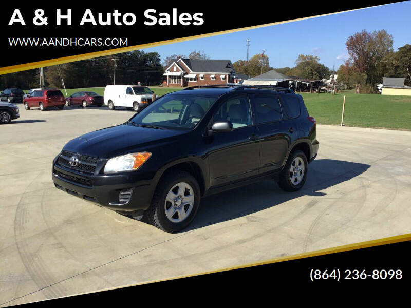 2011 Toyota RAV4 for sale at A & H Auto Sales in Greenville SC