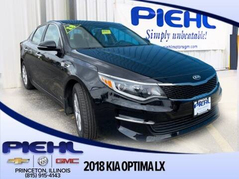 2018 Kia Optima for sale at Piehl Motors - PIEHL Chevrolet Buick Cadillac in Princeton IL