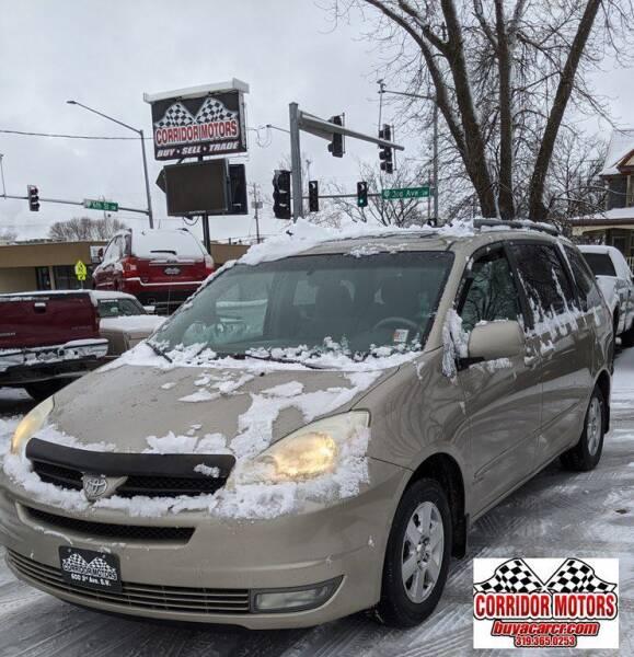 2005 Toyota Sienna for sale at Corridor Motors in Cedar Rapids IA