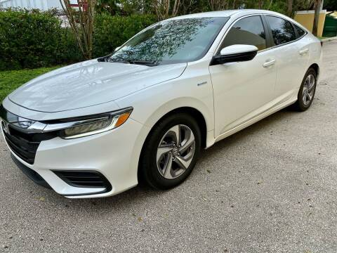 2020 Honda Insight for sale at DENMARK AUTO BROKERS in Riviera Beach FL