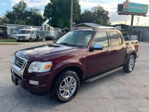 2008 Ford Explorer Sport Trac for sale at P J Auto Trading Inc in Orlando FL