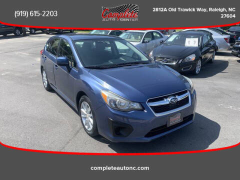 2013 Subaru Impreza for sale at Complete Auto Center , Inc in Raleigh NC