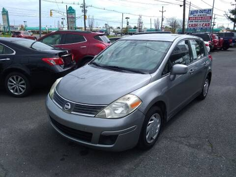 2007 Nissan Versa for sale at Wilson Investments LLC in Ewing NJ