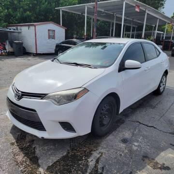 2015 Toyota Corolla for sale at America Auto Wholesale Inc in Miami FL