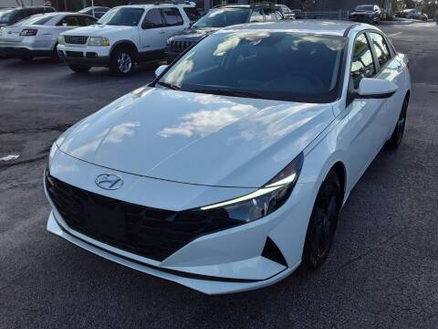 2021 Hyundai Elantra for sale at YOUR BEST DRIVE in Oakland Park FL
