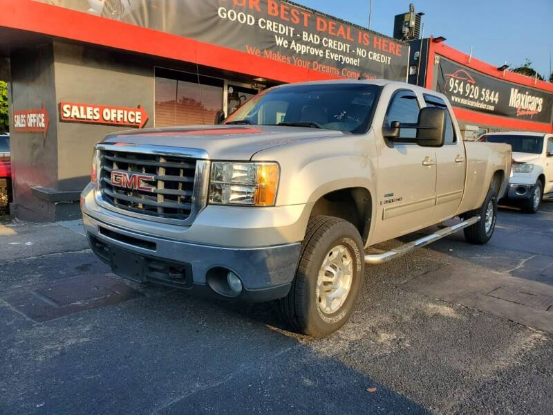 2008 GMC Sierra 3500HD for sale at Maxicars Auto Sales in West Park FL