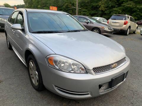 2012 Chevrolet Impala for sale at D & M Discount Auto Sales in Stafford VA