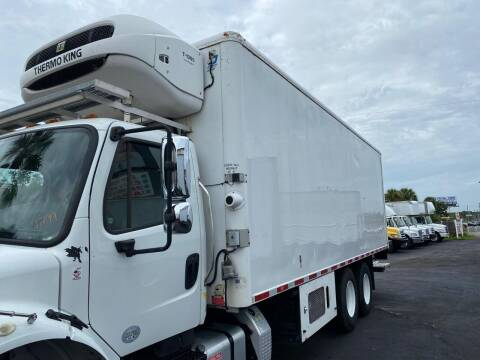 2013 JOHNSON REFRIGERATED BODY for sale at Orange Truck Sales - Fabrication, Lift gate and body in Orlando FL