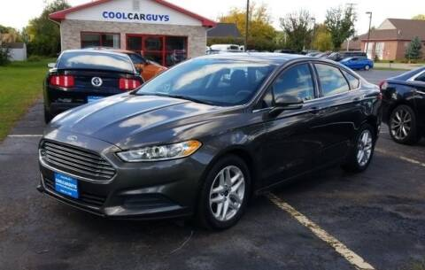 2016 Ford Fusion for sale at Cool Car Guys in Janesville WI