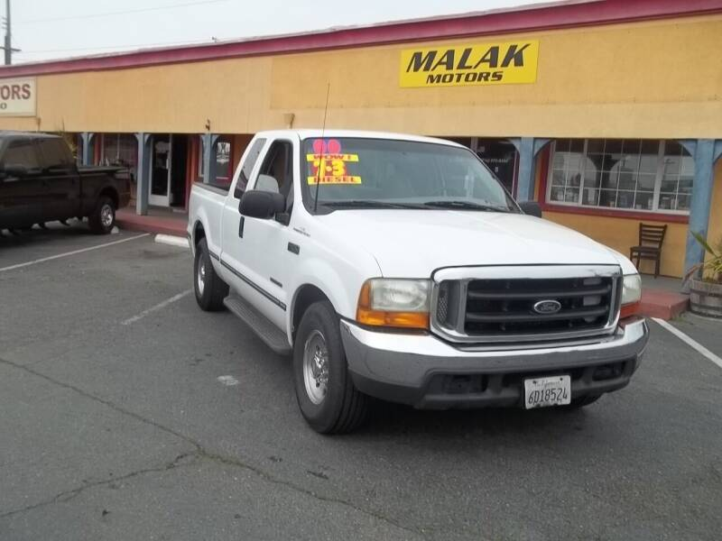 2000 Ford F-250 Super Duty for sale at Atayas Motors INC #1 in Sacramento CA