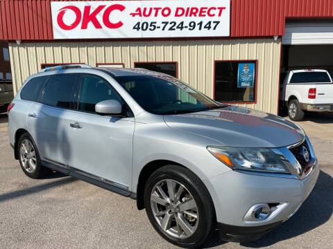 2014 Nissan Pathfinder for sale at OKC Auto Direct, LLC in Oklahoma City OK