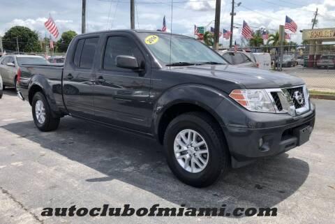 2014 Nissan Frontier for sale at AUTO CLUB OF MIAMI in Miami FL