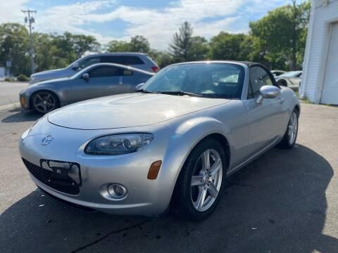 2006 Mazda MX-5 Miata for sale at SOUTH SHORE AUTO GALLERY, INC. in Abington MA