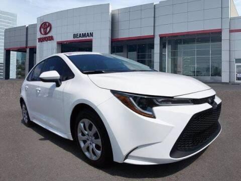 2020 Toyota Corolla for sale at BEAMAN TOYOTA in Nashville TN